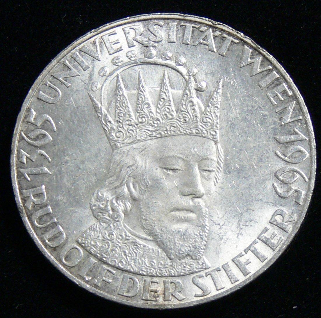 Österreich 1971, 50 Schilling- Silbermünze 600 Jahre