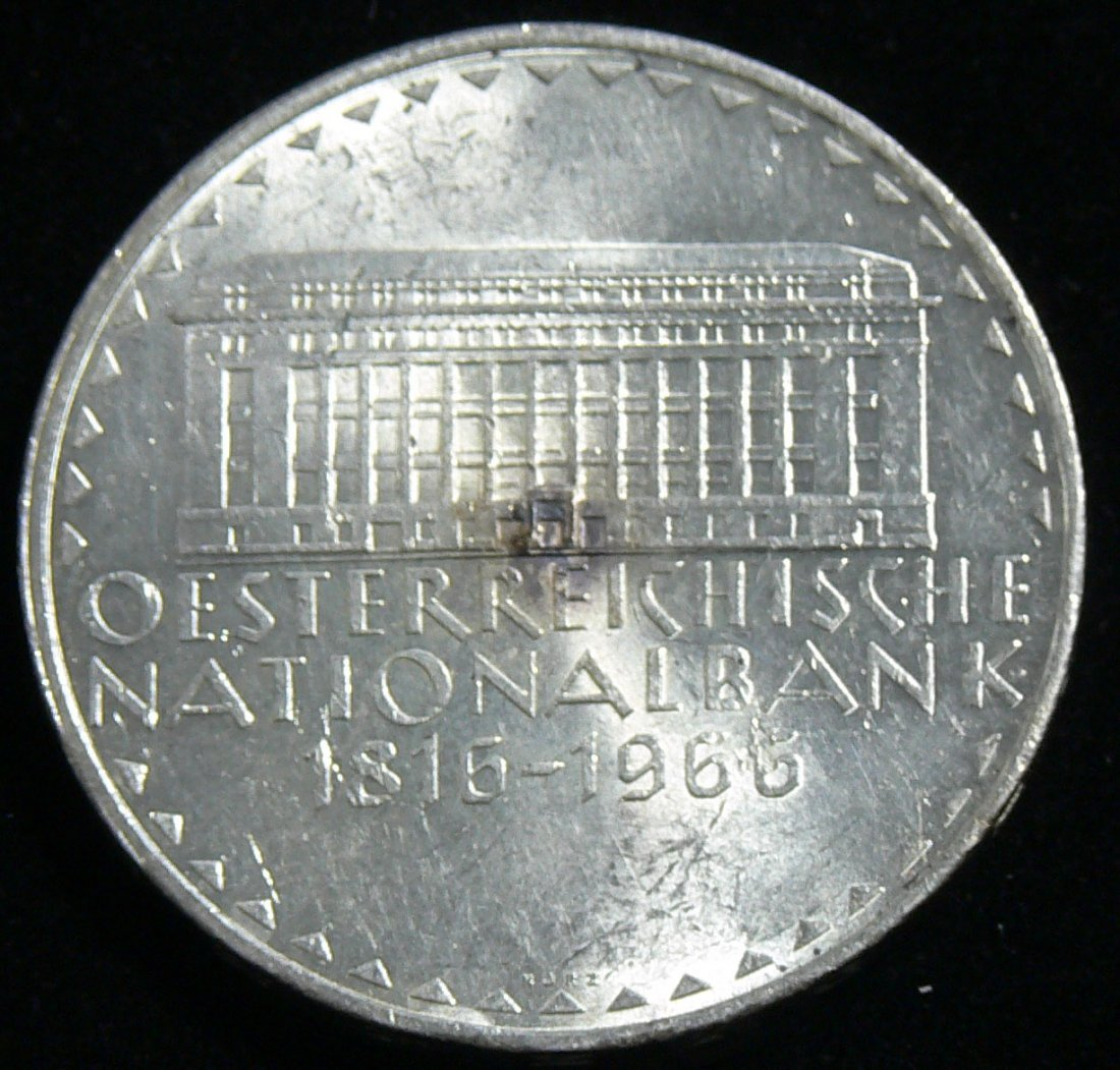 """Österreich 1966, 50 Schilling- Silbermünze, """"Österreich"""