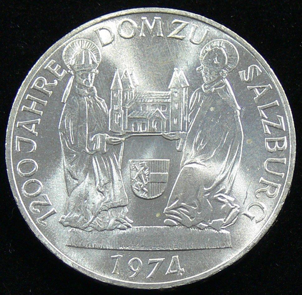 """Österreich 1974, 50 Schilling-Silbermünze, """"1200 Jahre"""