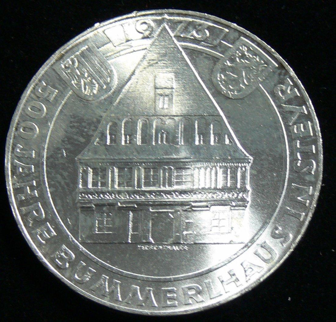"""Österreich 1973, 50 Schilling-Silbermünze, """"500 Jahre B"""