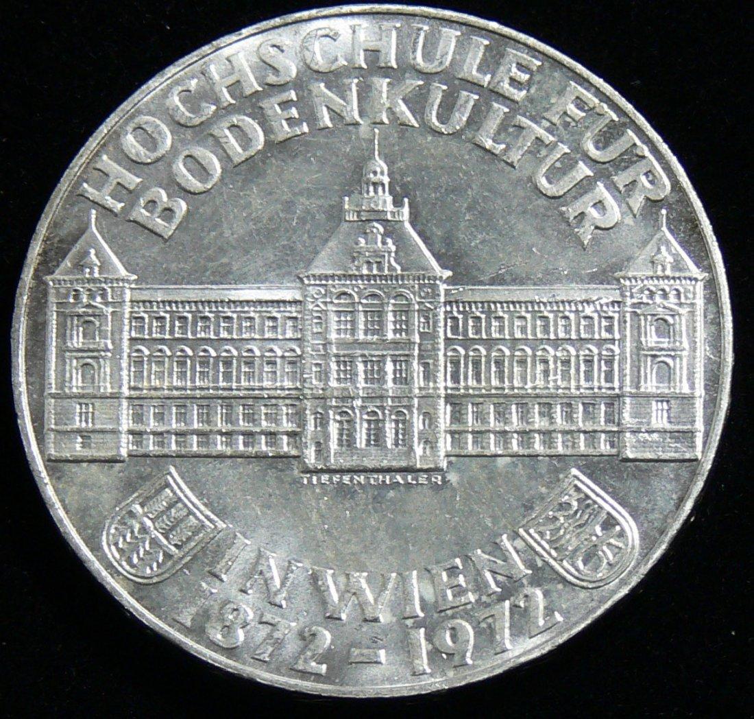 """Österreich 1972, 50 Schilling-Silbermünze,  """"1872-1972"""