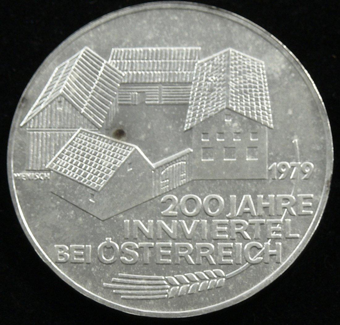 """Österreich 1979, 100 Schilling-Silbermünze, """"200 Jahre"""