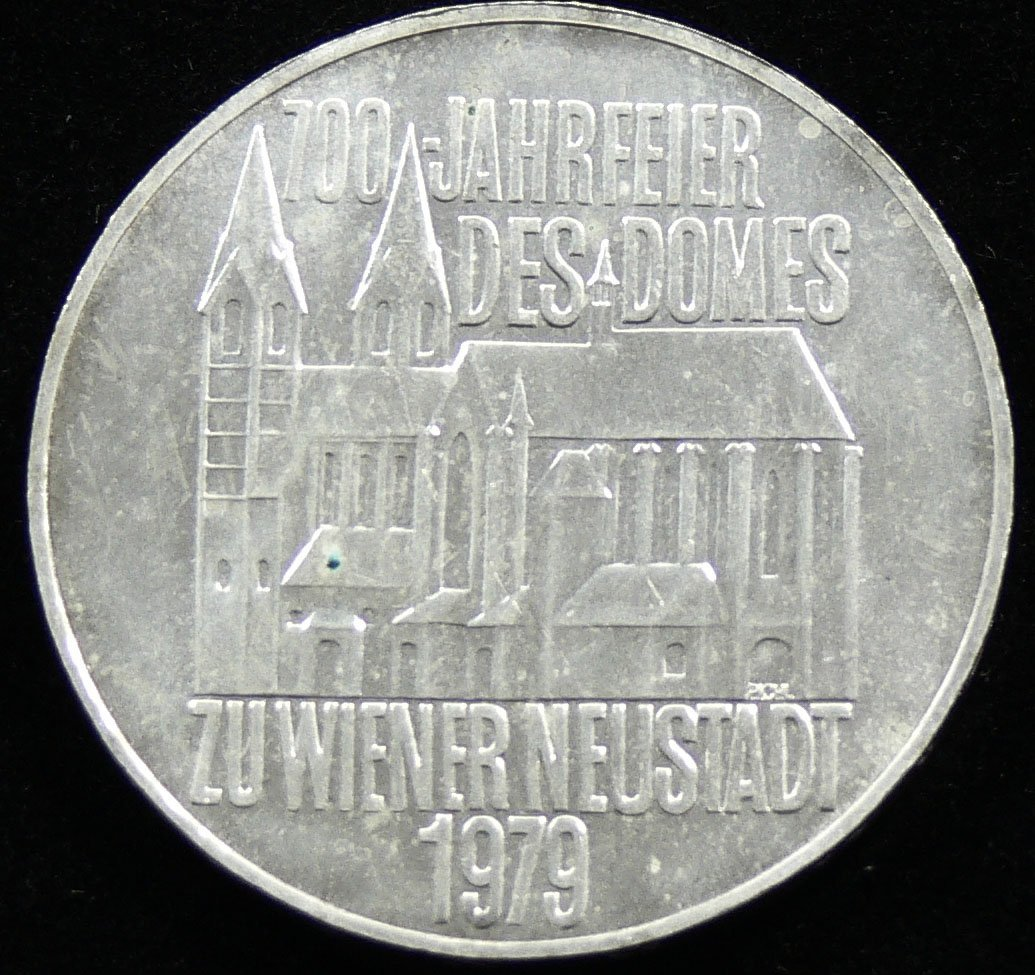 """Österreich 1979, 100 Schilling-Silbermünze,  """"700 Jahr"""