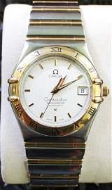 Omega Stahl/Gold, Automatic mit Papieren
