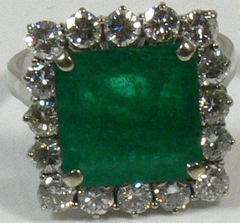 Damen-Ring, 750er Gold, 8,2 g, mit Brillianten ca.
