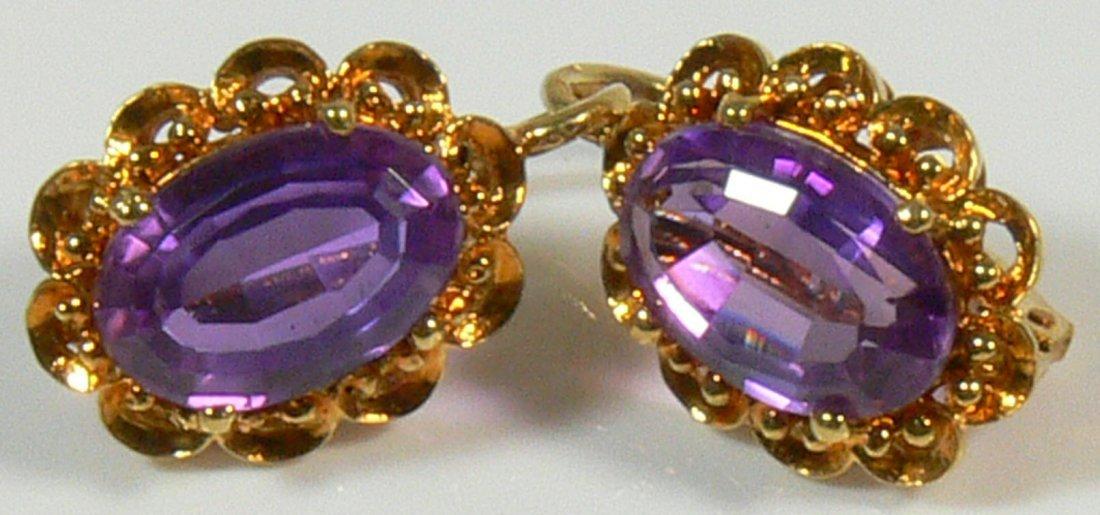 Ohrringe aus 750er Roségold 18ct, Hand- und Goldsch