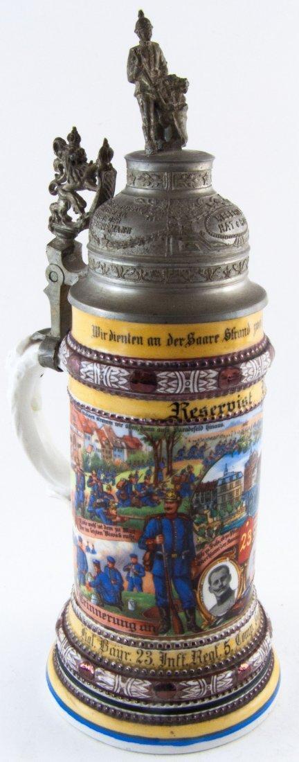 alter Reservistenkrug vom Reservist Bohn, königlich