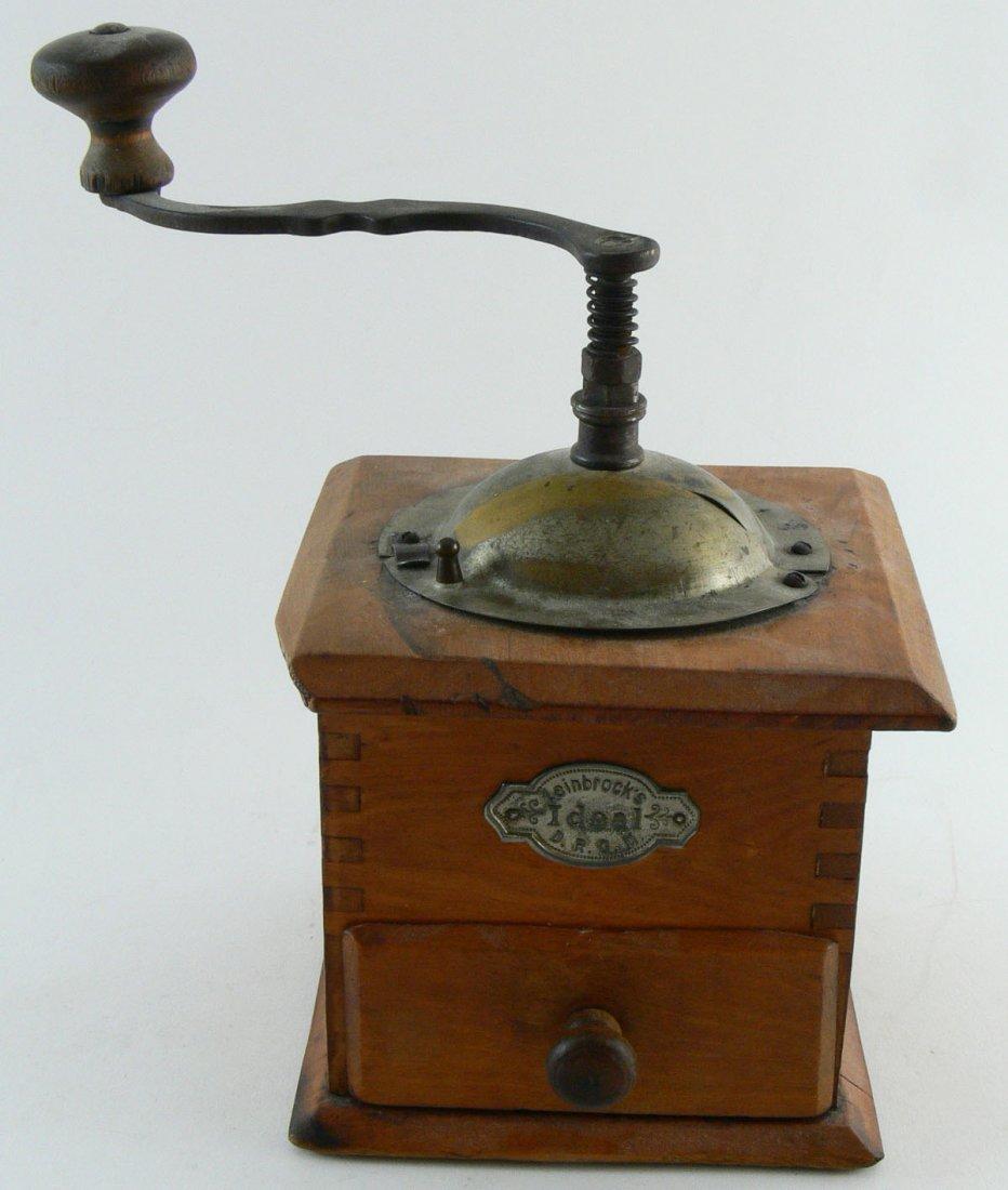 1 original alte Kaffeemühle, Leinbrocks Ideal, gute