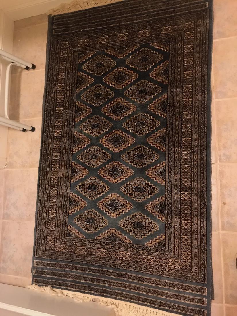 Pakistani Wool Bokhara Rug