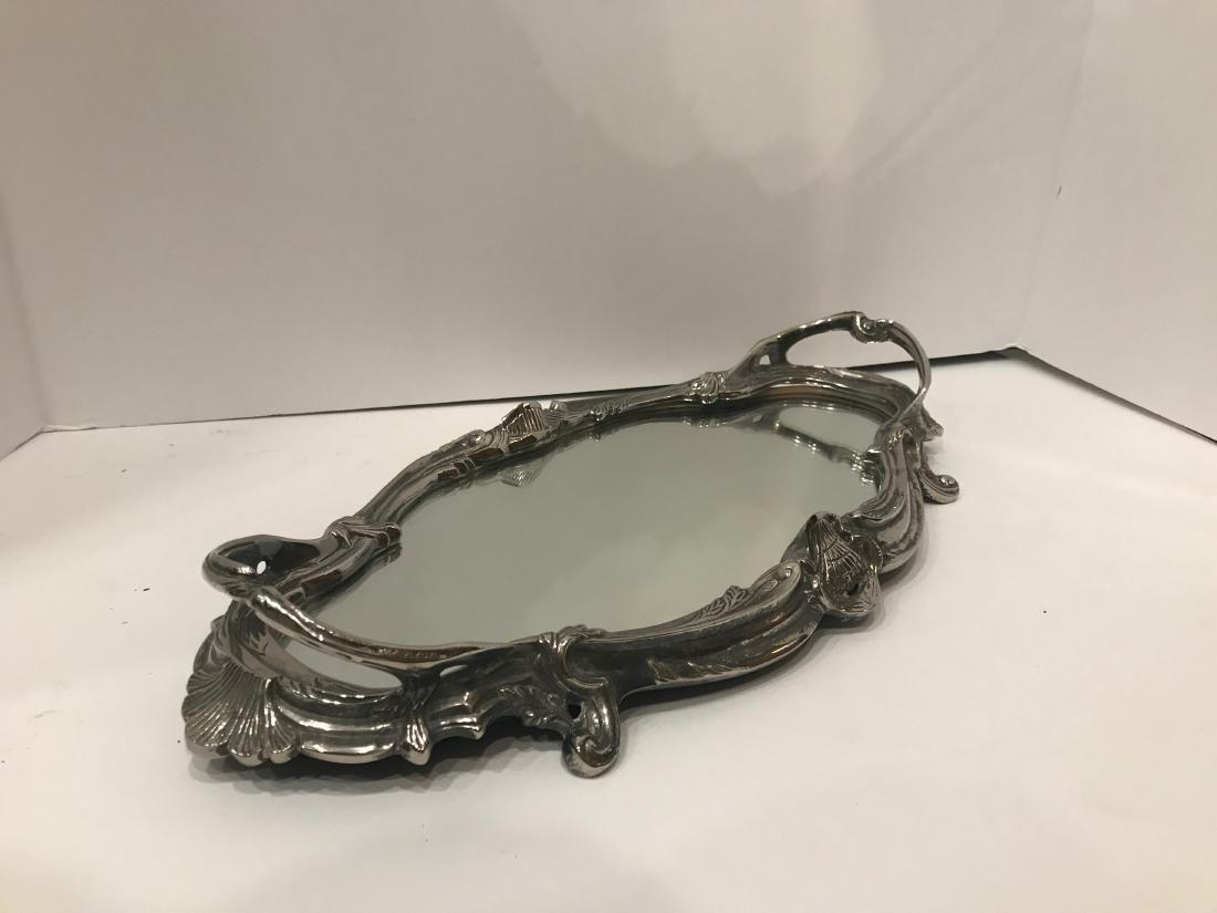 Mirrored Vanity Tray - 2