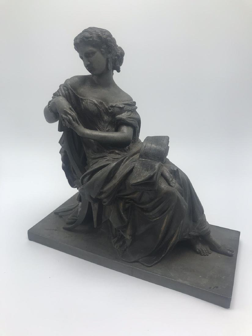 Bronze Figure of Classical Woman, likely from the Top