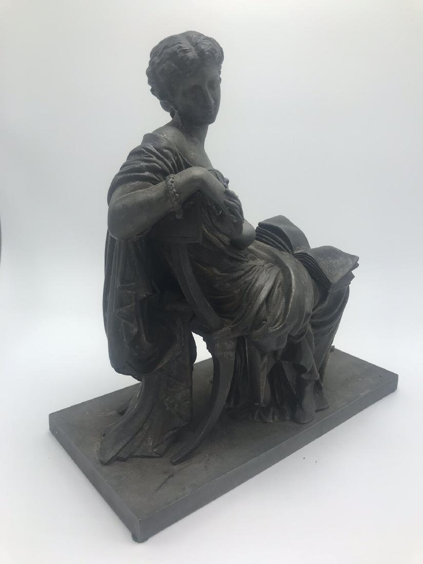 Bronze Figure of Classical Woman, likely from the Top - 2