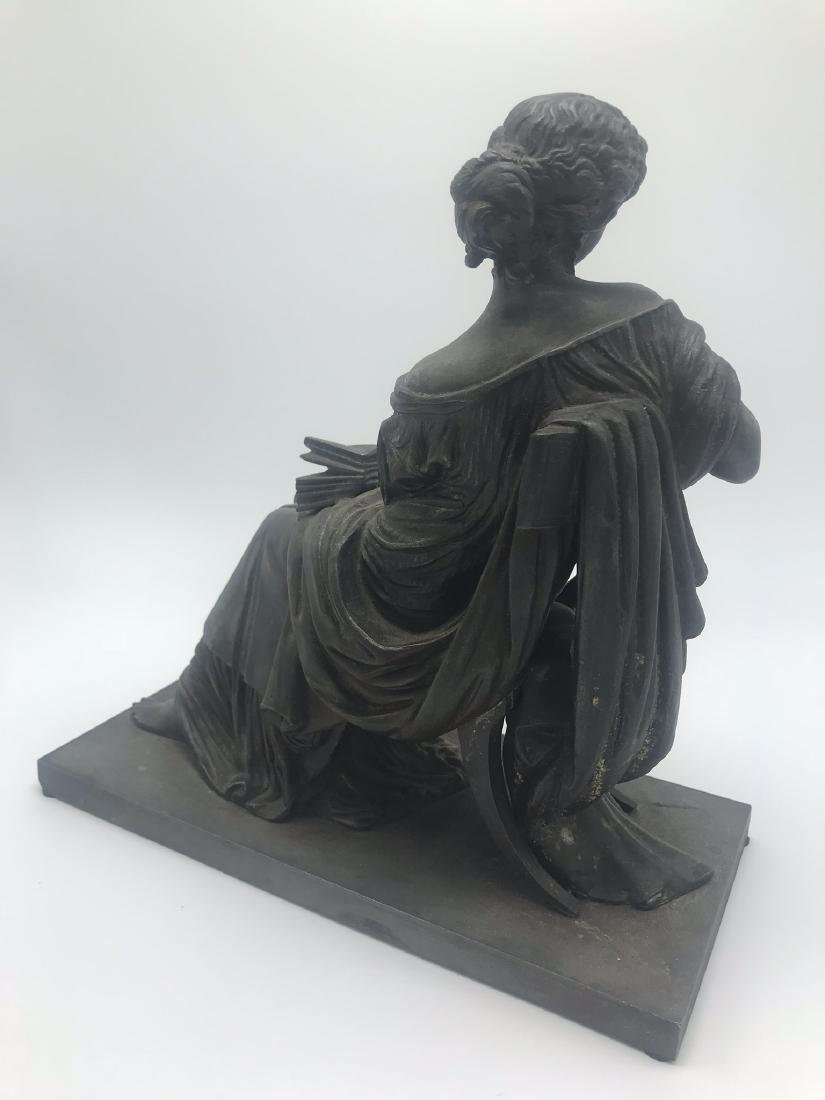 Bronze Figure of Classical Woman, likely from the Top - 3