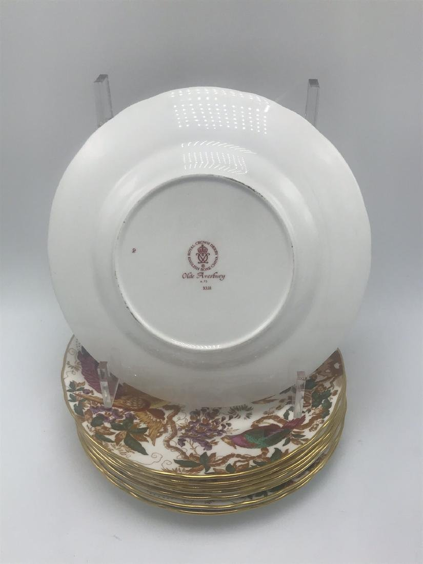 Lot of Royal Crown Derby Olde Avesbury Bone China, - 4