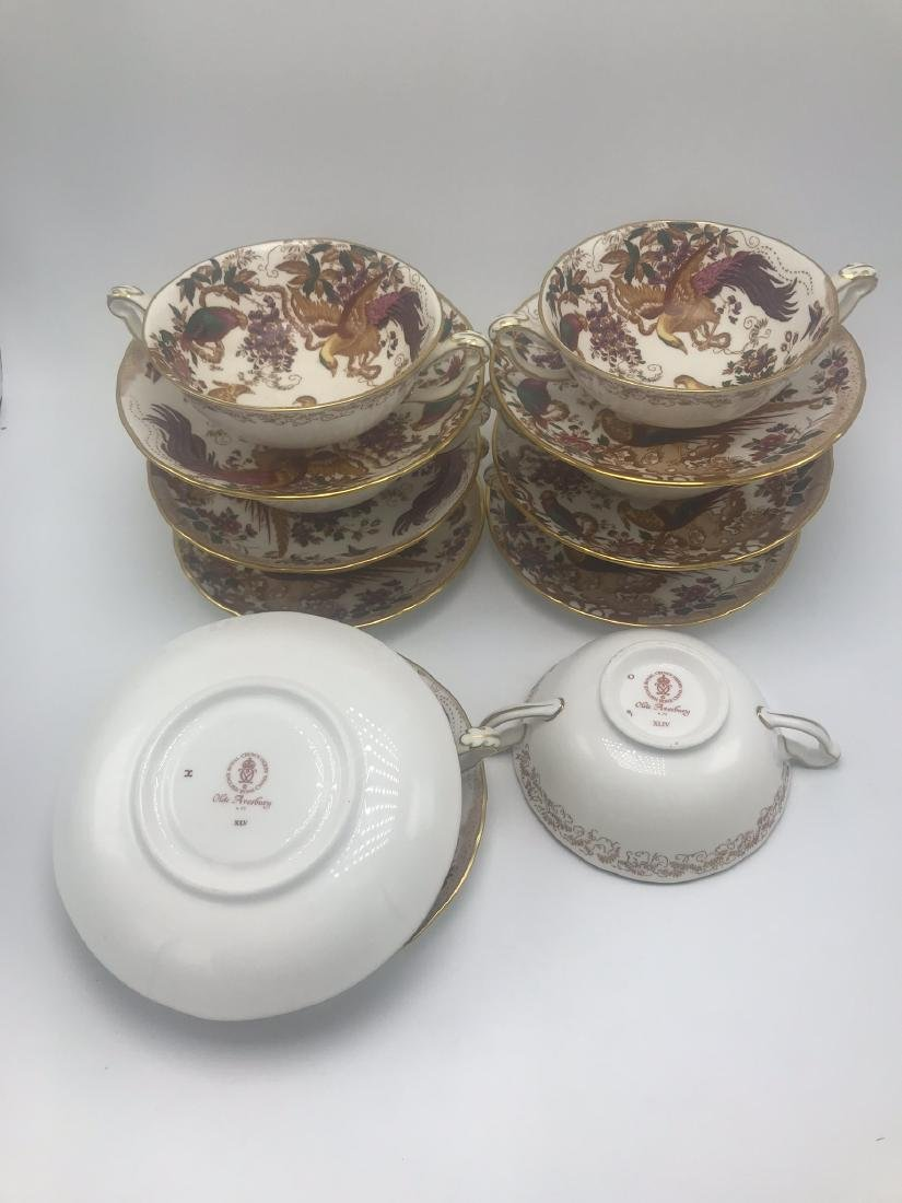 Lot of Royal Crown Derby Olde Avesbury Bone China, - 6