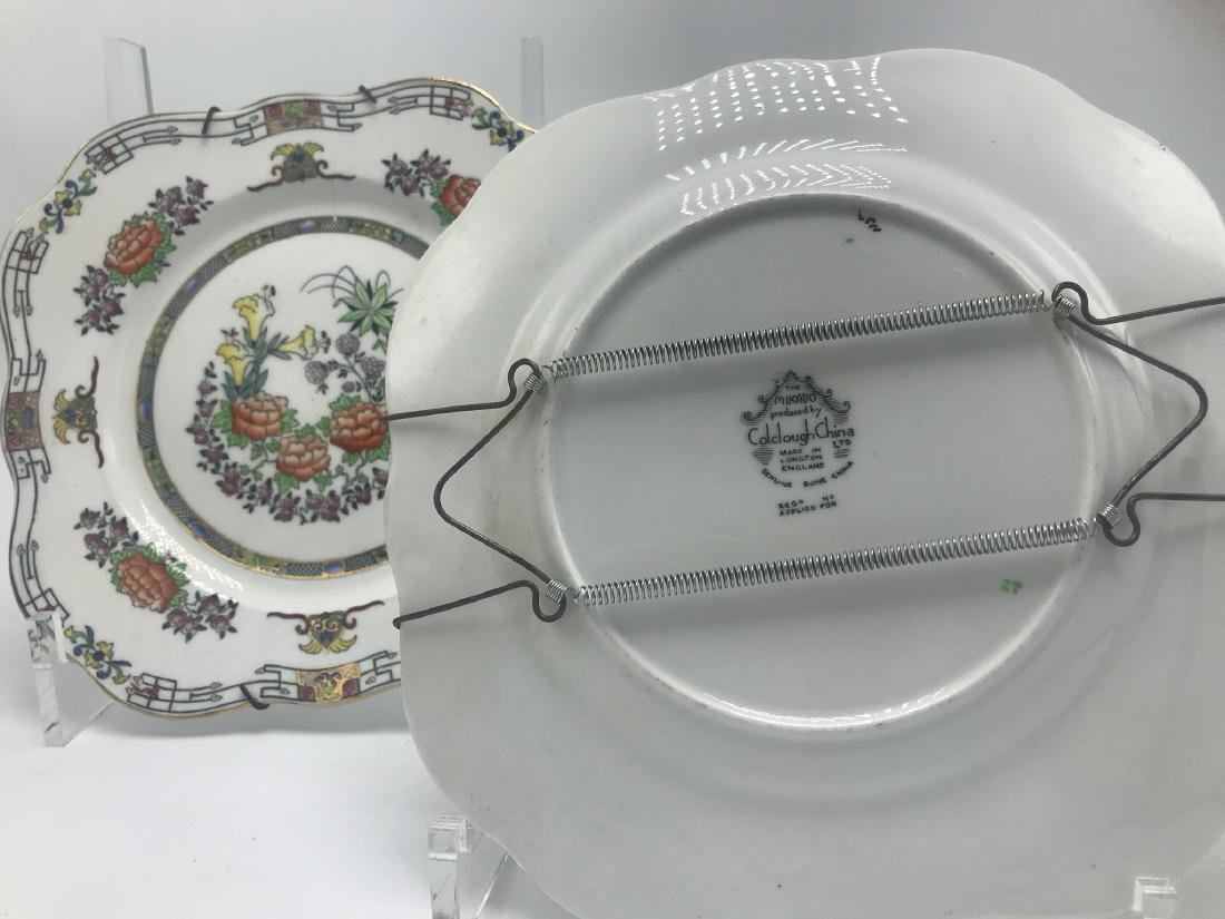 Pair English Mikodo Plates - 2