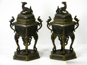 CHINESE INCENSE BURNERS