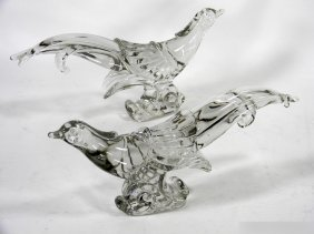 HIESEY MOLD BLOWN PHEASANTS