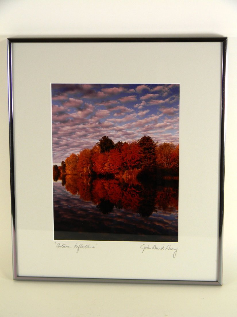 Framed Photograph by John David Geery of Autumn - 2