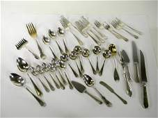 Sterling Silver 1215 grams Lot of assorted silverware