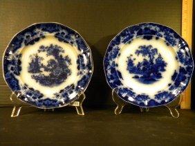 Flow Blue - Two Salad Plates