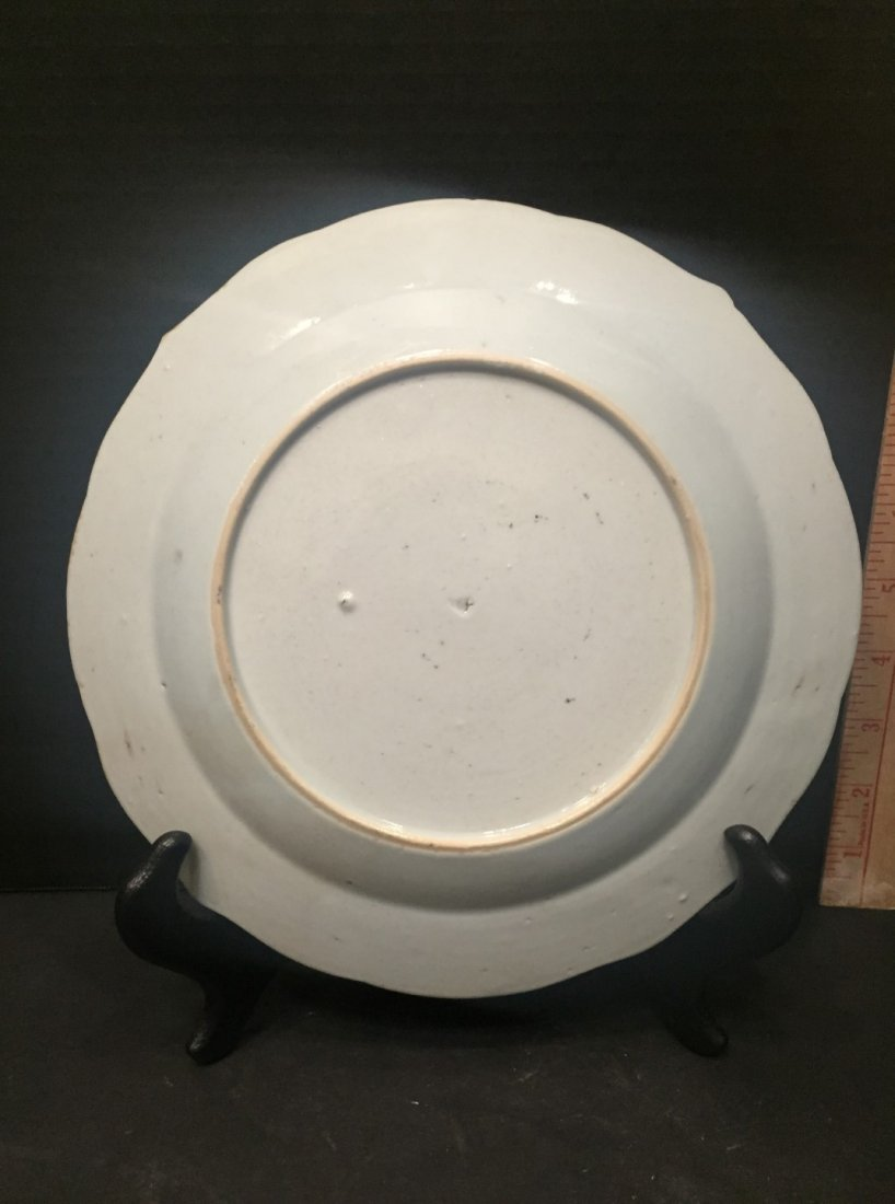 Chinese Export Porcelain Plate with Fine Enameling - 2
