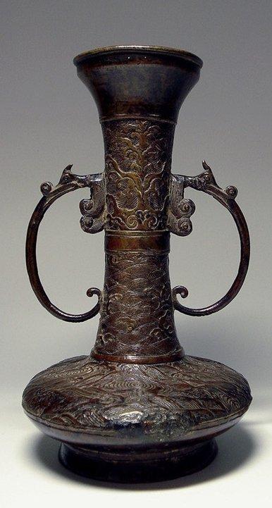 Bronze Vase With Ming XuanDe Mark