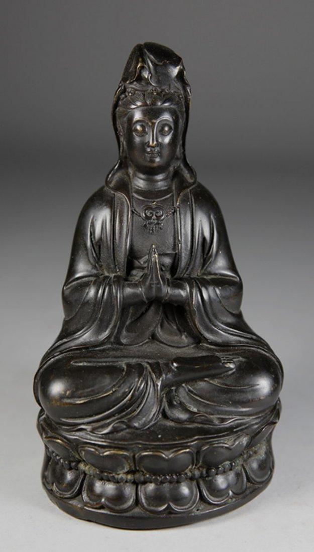 Copper  GuangYin Figure