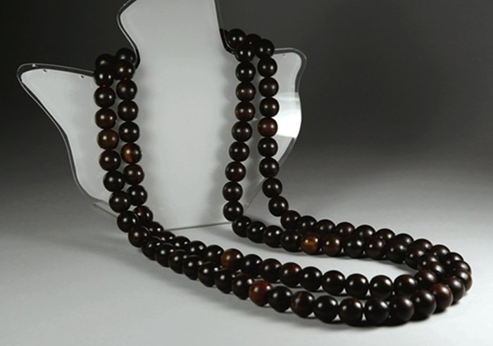 RHINOCEROS HORN/ YAK HORN 108 BEADS NECKLACE