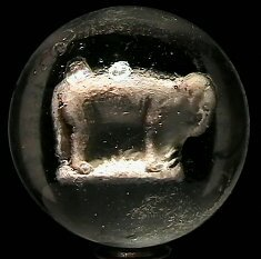 3: 67003 BB Marbles: Elephant Sulphide