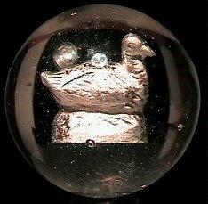 10: 67010 BB Marbles: Goose Sulphide