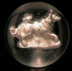 23: 67023 BB Marbles: Running Dog Sulphide