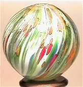 102: 67102 BB Marbles: Rare Clown Onionskin Lutz