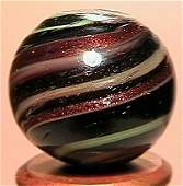 173: 67173 BB Marbles: Rare Opaque Banded Lutz
