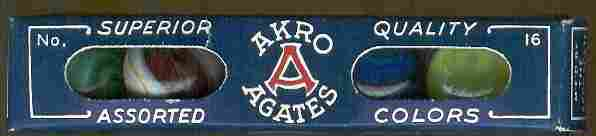 240: 67240 BB Marbles: Akro No. 16 Sleeve