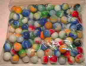 65001 BB Marbles: 120 Akro Patches