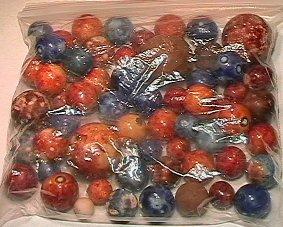 1002: 65002 BB Marbles: 50 Benningtons