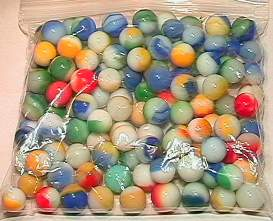 65003 BB Marbles: 120 Akro Patches