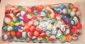 1004: 65004 BB Marbles: 150 Various Patches