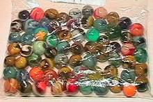 65005 BB Marbles: 75 Assorted Machine Mades