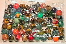 1005: 65005 BB Marbles: 75 Assorted Machine Mades