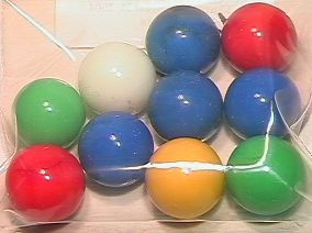 65018 BB Marbles: 10 Akro Opal Shooters