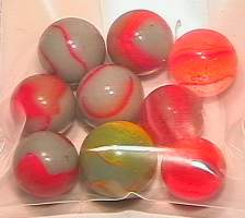 65023 BB Marbles: 9 Assorted Peltiers