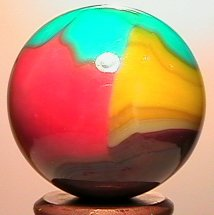 1139: 65139 BB Marbles: Vitro Parrot