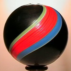 3104: 68104 BB Marbles: Rare Huge Indian