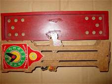 3196 68196 BB Marbles Rare Hickory Dickory Dock Game