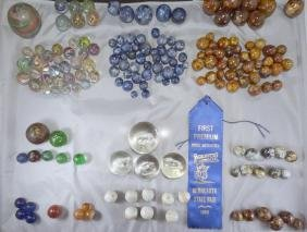 Lot 240. 1st Prize Marble Collection, 1969 Minnesota