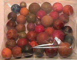 4020: 66020 BB Marbles: 20 Assorted Clays