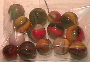 4022: 66022 BB Marbles: 14 Master Marble Sunbursts