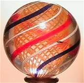 4211: 66211 BB Marbles: Latticinio Core Swirl
